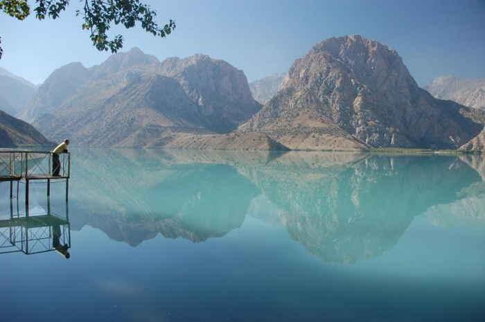 El lago Iskanderkul, una de las muchas bellezas de las montañas Fann