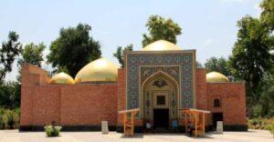 El mausoleo de Hamadani en Kulob