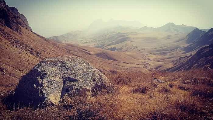 Hacia el monte Kaypiaztoy
